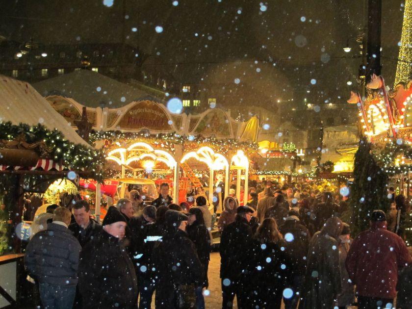 Kerstmarkt in Hamburg