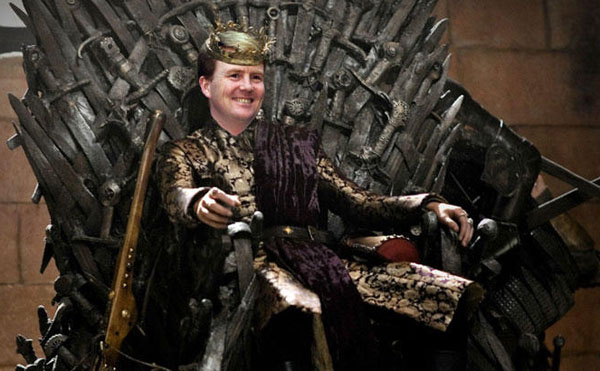 New King on the Block err Throne