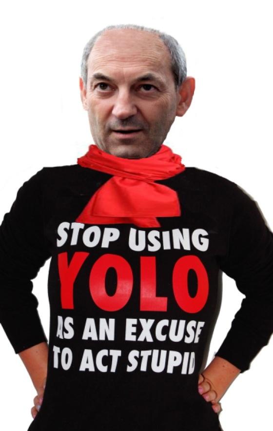 Stop using Yolo as an Excuse Mijnheer Cohen!