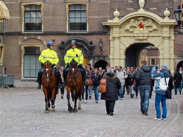Op het Binnenhof