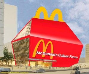 Het McDonalds Cultuurforum