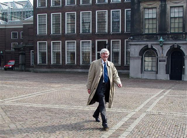 Ruud Lubbers op weg naar de Eerste Kamer