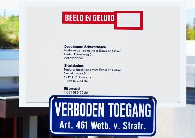 Dependance Beeld en Geluid. Foto door Roel Wijnants.