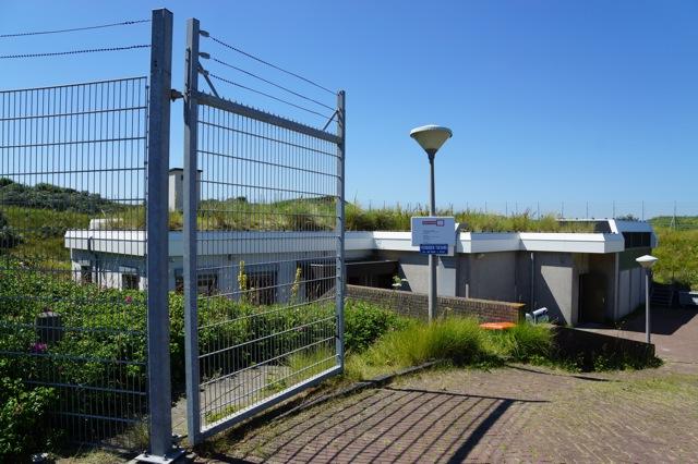 Gerestaureerde bunker uit WO II. Foto door Roel Wijnants.