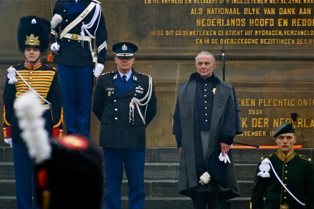 Gouverneur van de Residentie en Huub Stapel als Prins Prins Willem Frederik. Foto door Roel Wijnants, op Flickr.