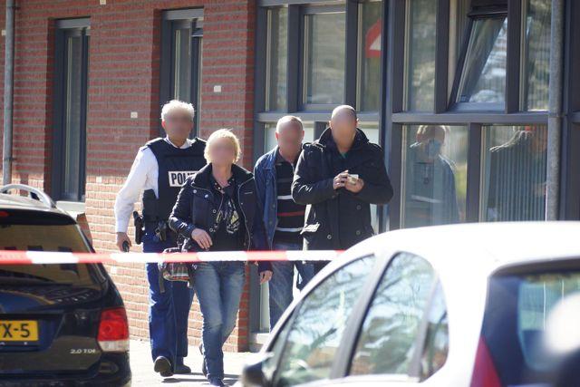 Ouders van de verdachte. Foto Door Roel Wijnants.