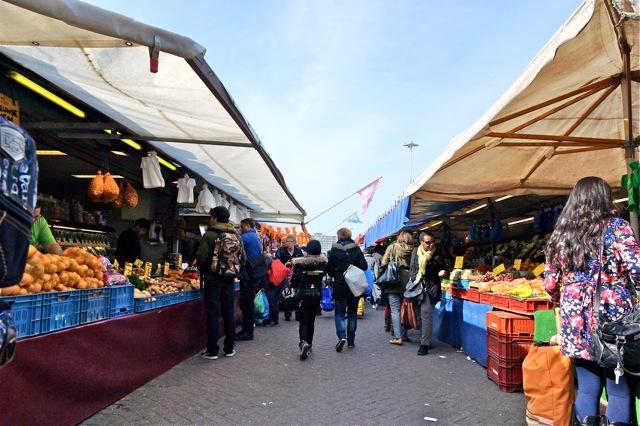 Haagse Markt. Foto door Roel Wijnants.