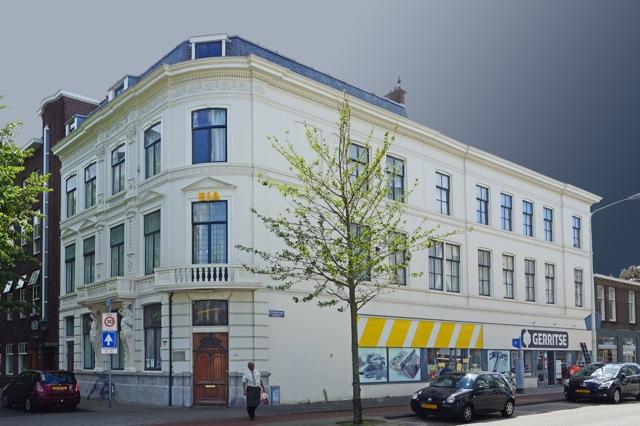 Atelier Helmerstraat, hoek Elandstraat. Foto door Roel Wijnants.