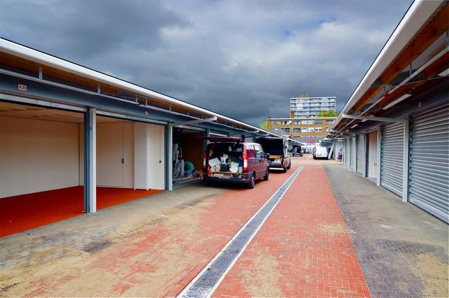 De vernieuwde Haagse mark met afsluitbare units