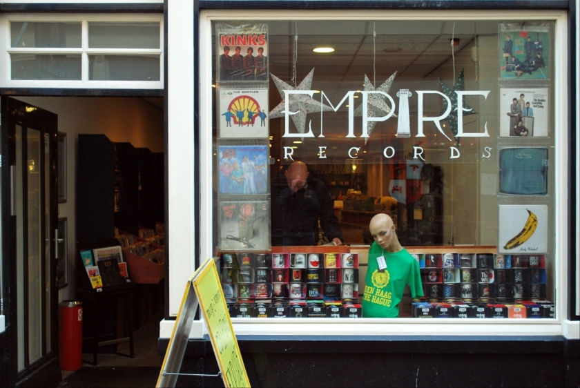 Empire Records. Foto door Ed Gool.