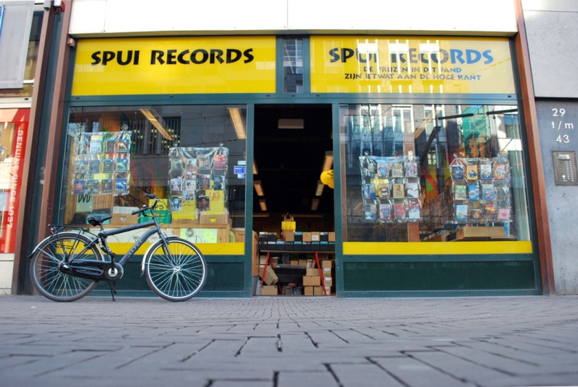 Spui Records. Foto door Ed Gool.