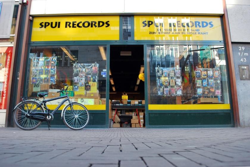 Spui Records. Foto door Ed Gool.