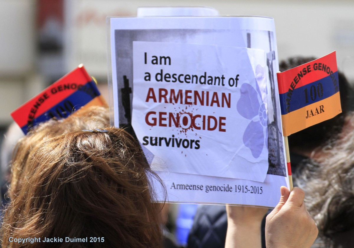 Demonstratie in DenHaag.