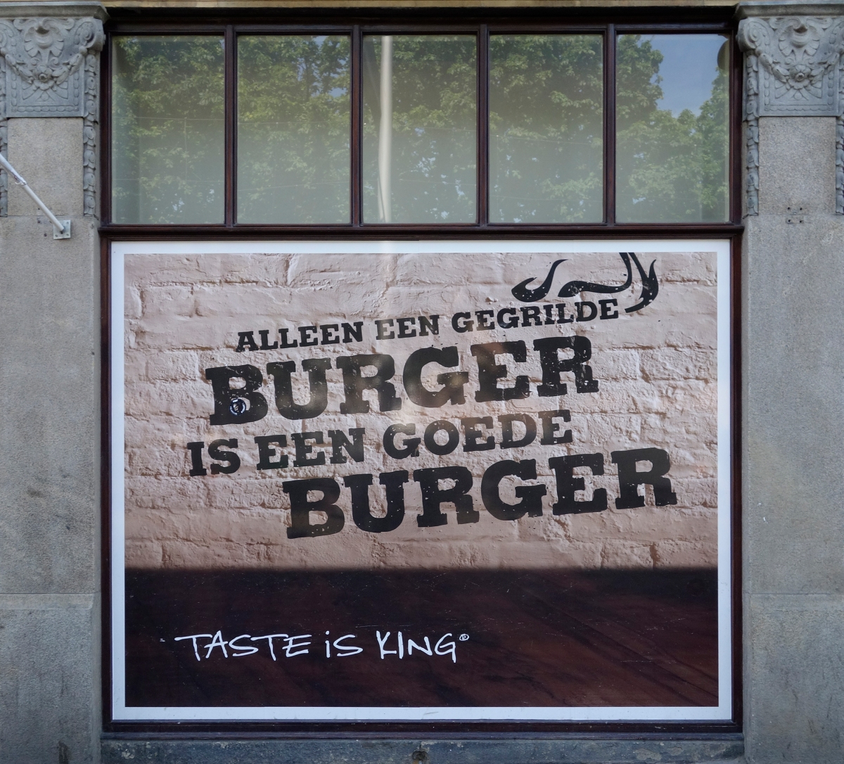 Koninklijke Ham Burgers?