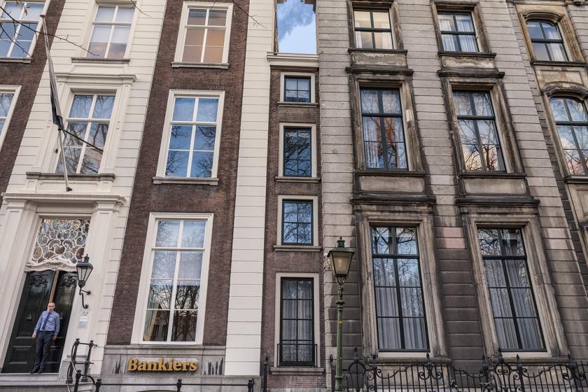 Het smalste huisje van Den Haag
