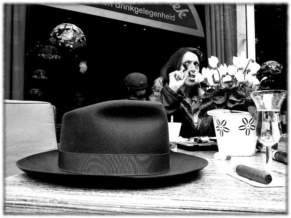 Is deze Borsalino de hoed van Sacha Kahn?