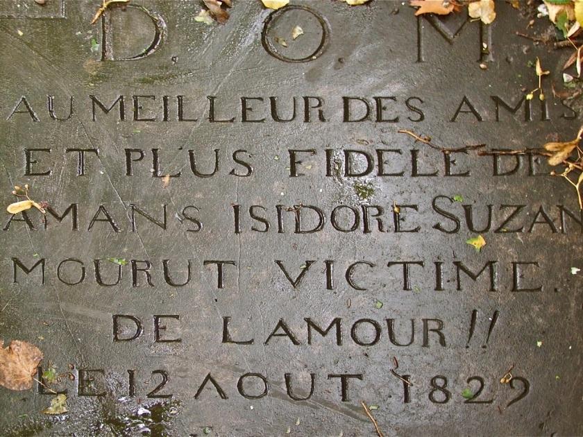 Grafsteen Isidore Suzan Oud Eik en Duinen. Foto door Roel Wijnants