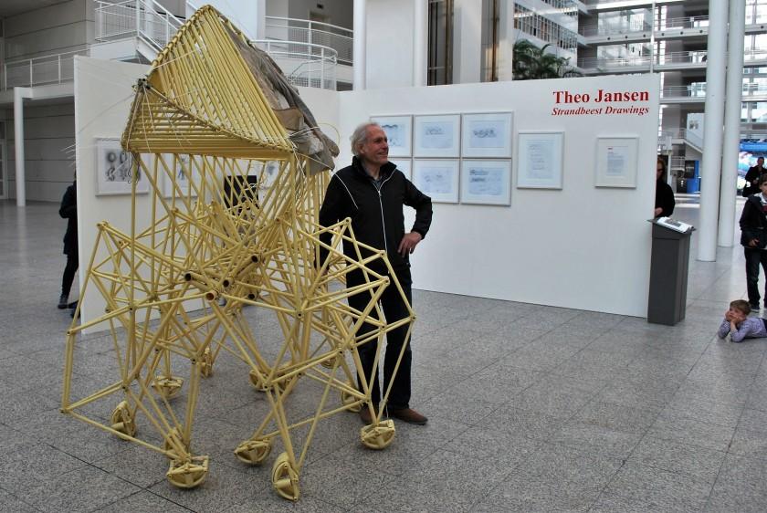 De expositie geopend.