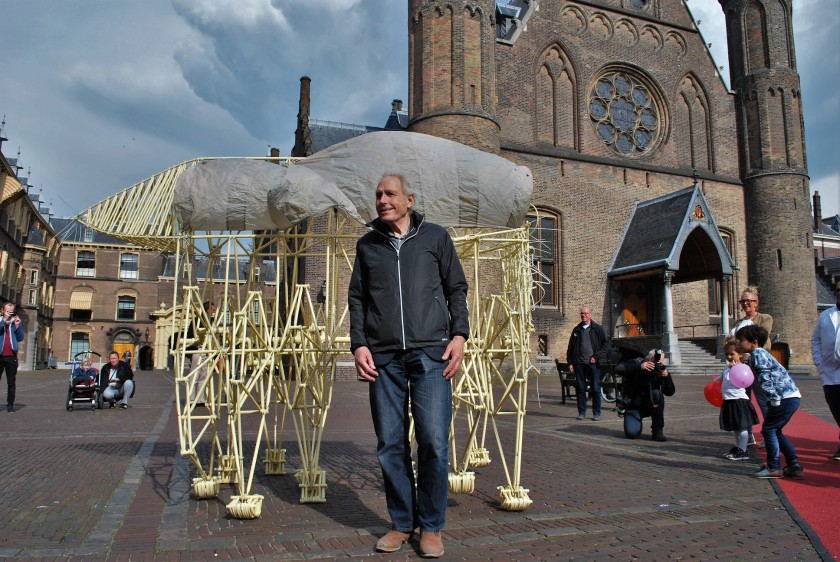 Korte expo op het Binnenhof