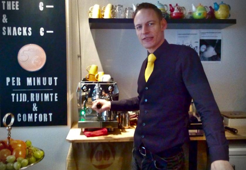 Sander Huisman, Minute Bar, Groningen. Foto: Haagspraak