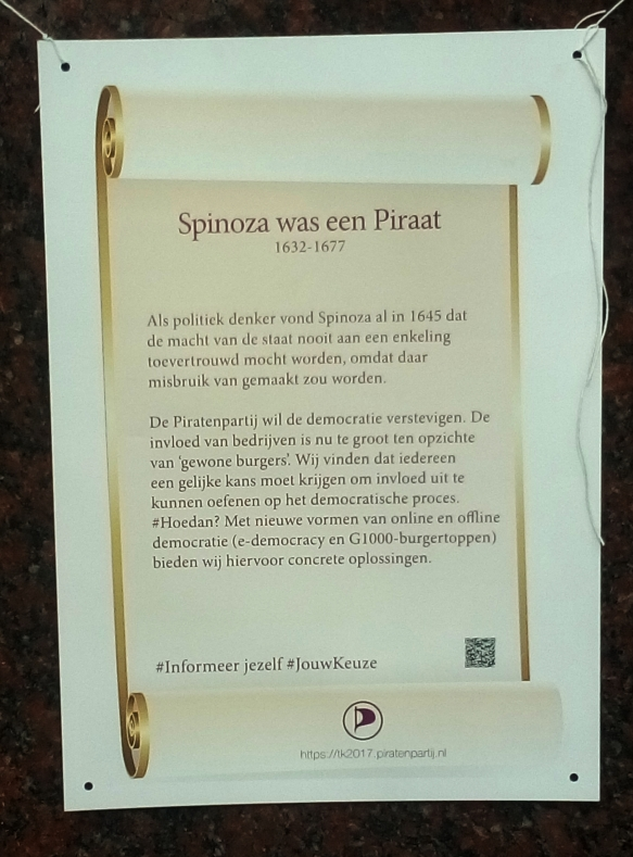 spinoza was een piraat