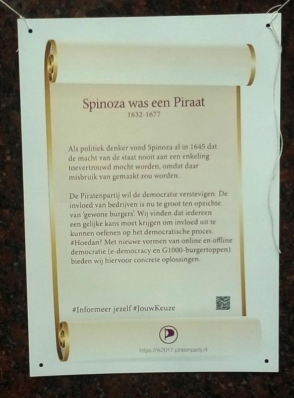 spinoza was een piraat